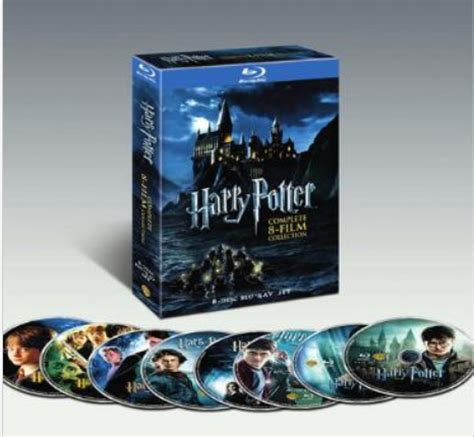 Dvd Harry Potter Collection harry potter the complete 8 collection