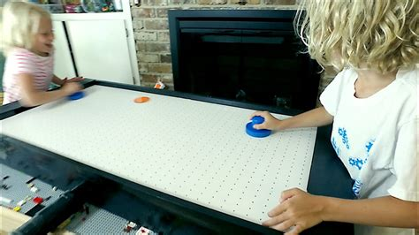 diy air hockey table miniエアホッケーテーブルをdiy diyer s