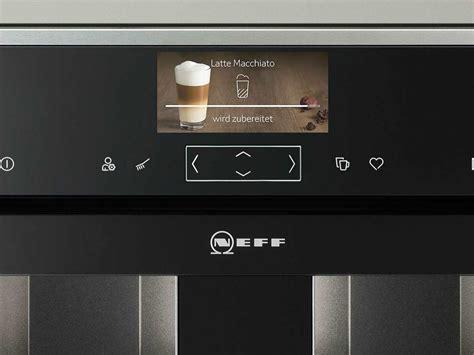 einbau kaffeevollautomat neff cks 1561 n einbau kaffeevollautomat edelstahl
