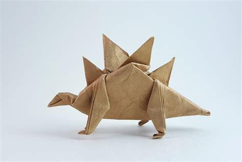 Origami Stegosaurus - stegosaurus takai hiroaki gilad s origami page