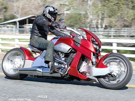 2008 Travertson V Rex Concept Motorcycle   MotoUSA   YouTube