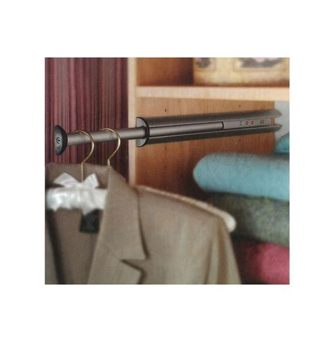 Hanging Closet Rod Extension by Closet Valet Rod 9 5 Quot Extension Contempo Space