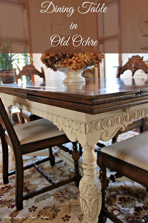Update Dining Room Table Painted Furniture Dining Room Table Update New House New Home