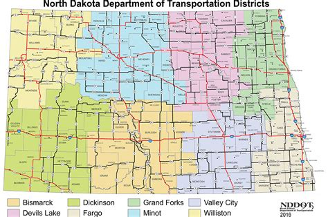nd map district map and offices