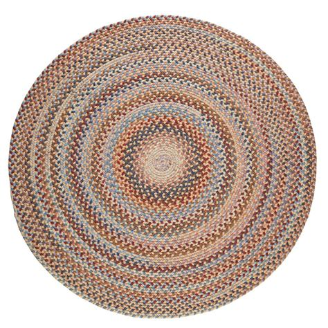8 foot braided rugs rhody rug wheat field 8 ft x 8 ft indoor braided area rug an52r096x096 the home