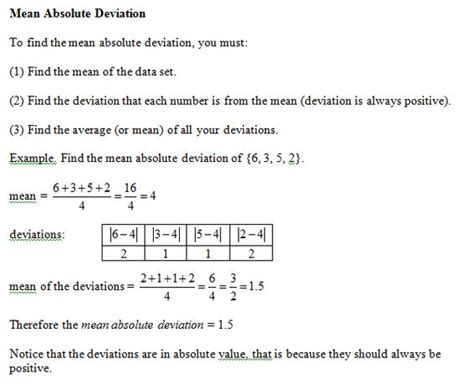 Absolute Deviation Worksheet Pdf by Measures Of Central Tendency Worksheets Lesupercoin