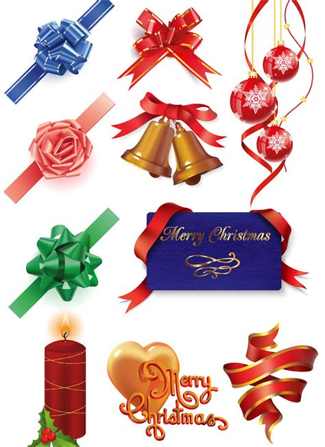 christmas decorations vector vector graphics blog