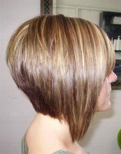 cutting a stacked angled bob side view of stacked bob haircut best bob hairstyles for