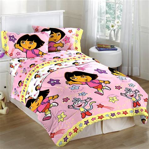 dora comforter dora the explorer star catcher girls comforter twin size