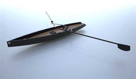 carbon roeiboot neptune rowboats