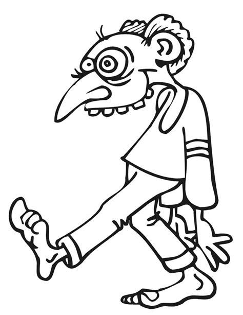 free printable zombie coloring pages free halloween zombies coloring pages