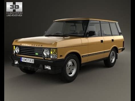 1986 land rover 3d model land rover range rover 1986 at 3dexport