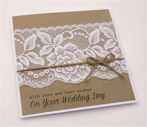 Handcrafted Wedding Cards - 25 best ideas about wedding cards handmade on