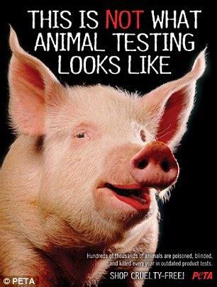 According To Peta All Animal Skin Is The Same by Aš Nebedažysiu Lūpų Krauju Arba Kosmetikos Bandymai Su