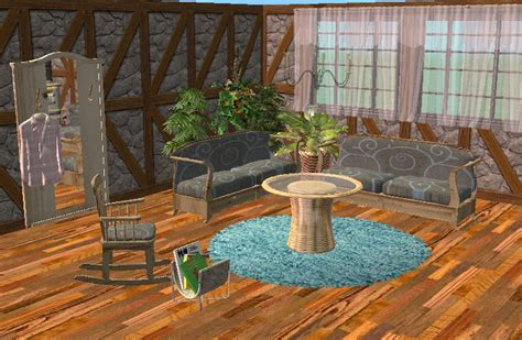 Country Living Dining Room Sets Mod The Sims Country Style Living And Dining Room Sets