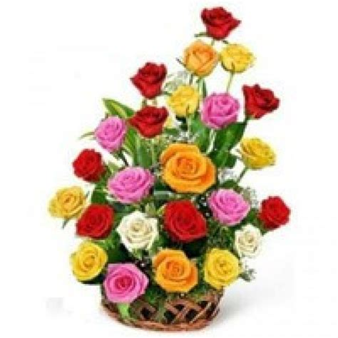 Order Online Rose Basket to Vizag   Send Fresh Roses to