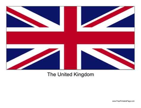 flags of the world print out flag of united kingdom