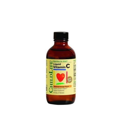 Childlife Liquid Vitamin C childlife liquide vitamine c orange 4 fl oz