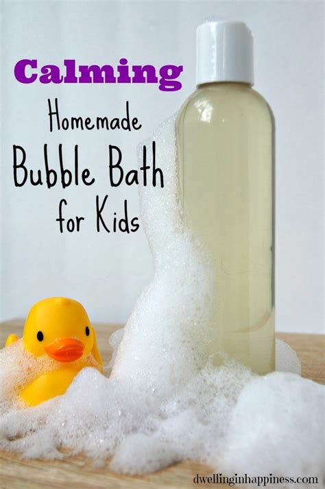 diy bath bubbles calming bath for dwelling in happiness