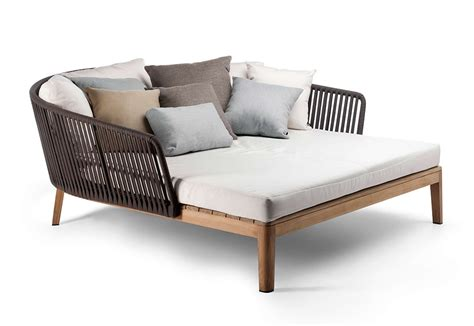 Yarn And Teak Daybed Mood From Tribu Outdoor Furniture Day Bed