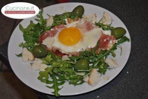 cucinare rucola uova al prosciutto crudo e rucola cucinare it