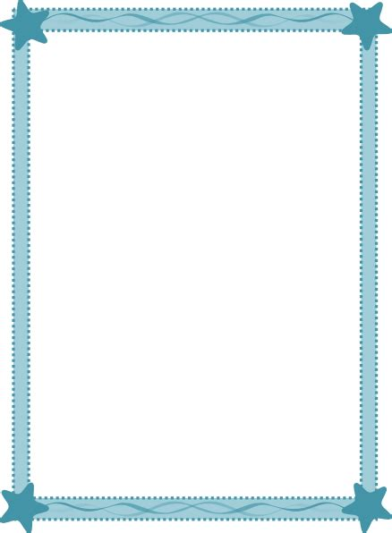 Page Shower by Baby Boy Page Border Clip Images Pictures Becuo