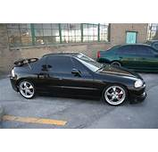 Black Modified Honda Del Sol  1 MadWhips