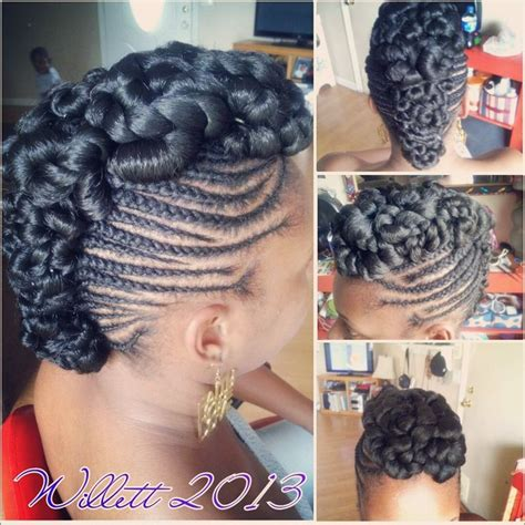 updo with expressions braid hair braided mohawk hair styles pinterest braided mohawk
