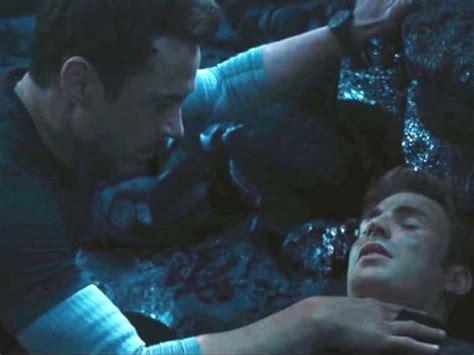 avengers endgame captain america die saving iron man