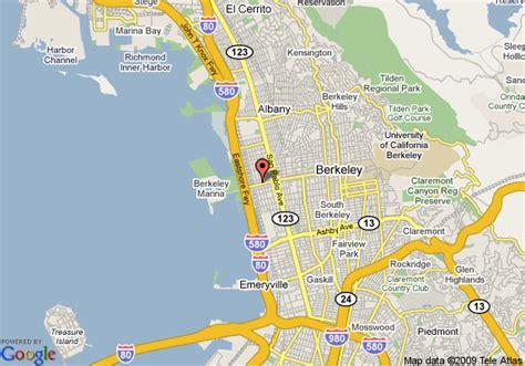 california map la quinta map of la quinta inn berkeley berkeley