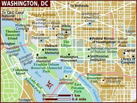 washington dc city layout map washington boards ie