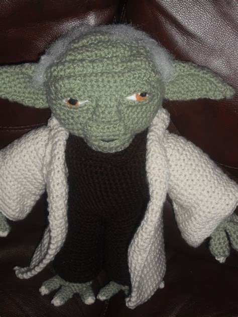 Pattern Crochet Yoda | yoda