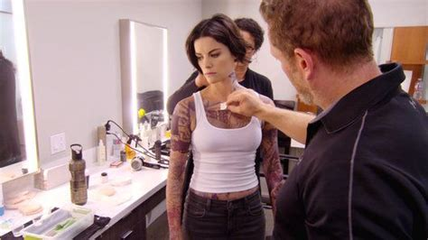 blind spot tattoo process 17 best images about blindspot jaimie alexander on
