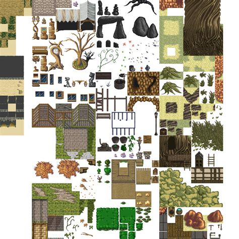 Home Design 3d Outdoor And Garden Tutorial lots of free 2d tiles and sprites by hyptosis