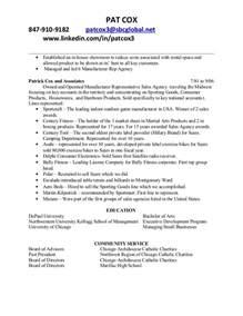 patrick cox nonprofit resume patrick cox nonprofit resume