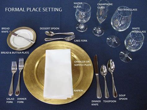 formal dinner place setting designing your own place setting tips where to start