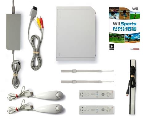 nintendo wii console white incl wii console white incl wii sports 2 official remotes
