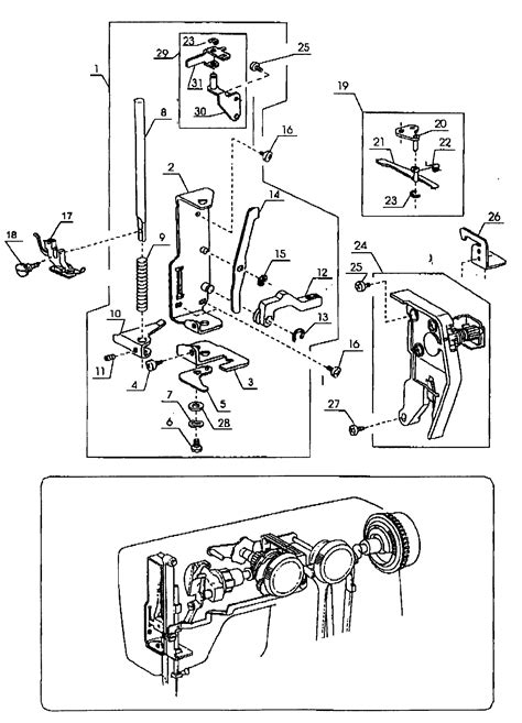 kenmore sewing machine parts diagram 301 moved permanently