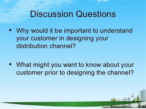 Why You Want To Do Mba In Marketing by Channels Of Distribution Ppt Bec Doms Bagalkot Mba Marketing