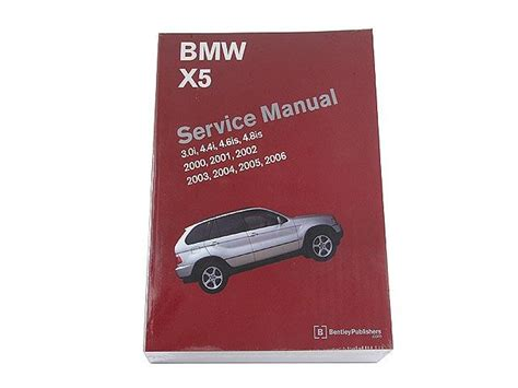 bmw e53 bentley repair manual x5 2000 2006 free shipping ebay