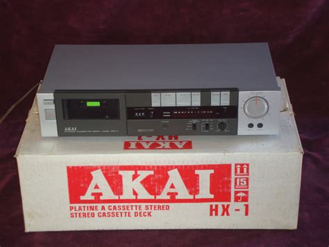 cassette players for sale cassette players up for sale is a vintage akai hx 1