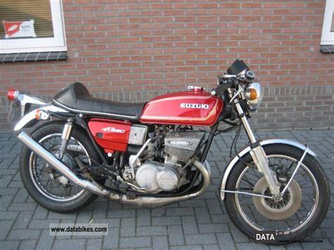 Suzuki Two Stroke 1975 Suzuki Gt 550 Dreizylind Er Two Stroke