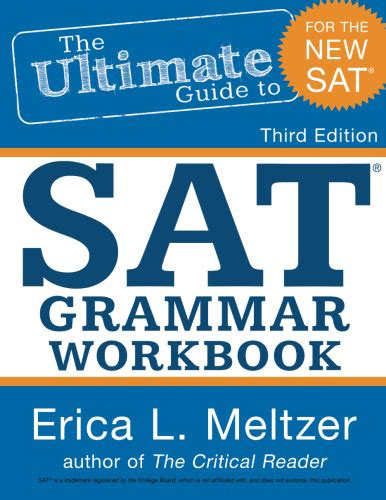 Gmat Math Workbook 3rd Edition the ultimate guide to sat 174 grammar workbook 3rd edition