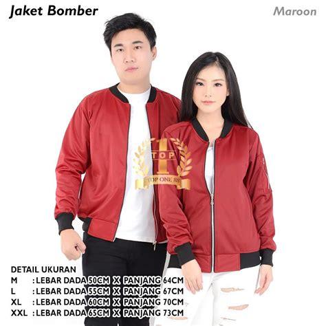 Jaket Kulit Pria Palembang jaket bomber unisex bomber jaket pria wanita jaket