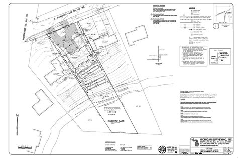 what is a plot plan of a house services we offer michigan surveying inc