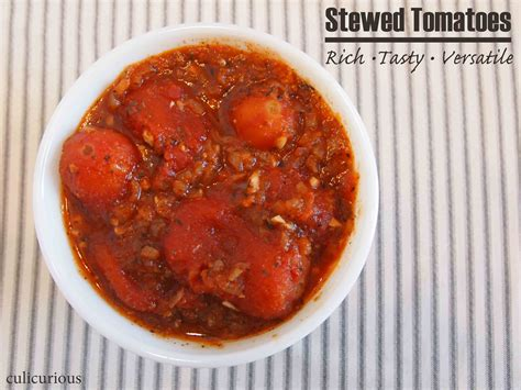stovetop stewed tomatoes recipe culicurious
