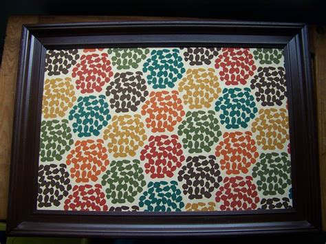 Upholstery Board by Fabric Covered Cork Board Tutorial