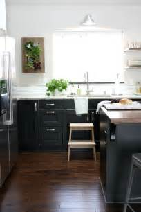Ikea Black Kitchen Cabinets Ikea Ramsjo And Ikea Lidingo Contemporary Kitchen House Tweaking