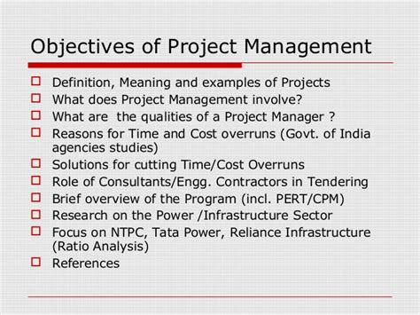 innovative project management practices for large power sector proje