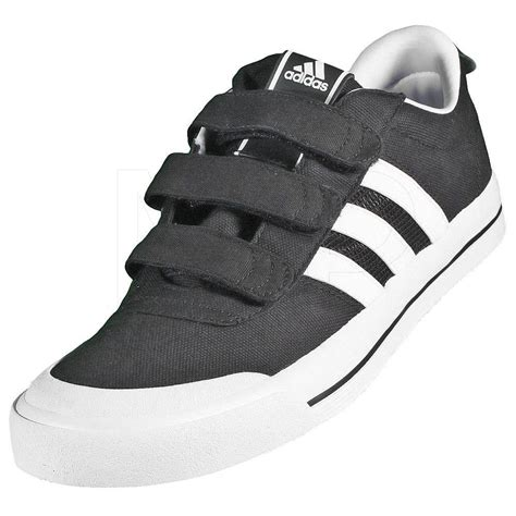 shoes adidas brasic velcro white black price 71 00